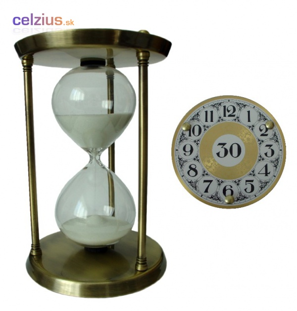 Presýpacie hodiny 11145 M - 30 minút  4a644db8b33